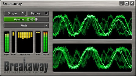 Windows 7 Breakaway Audio Enhancer 1.40.03 full